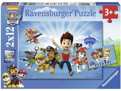 Ravensburger Puzzle 2x12 Brk Paw Patrol