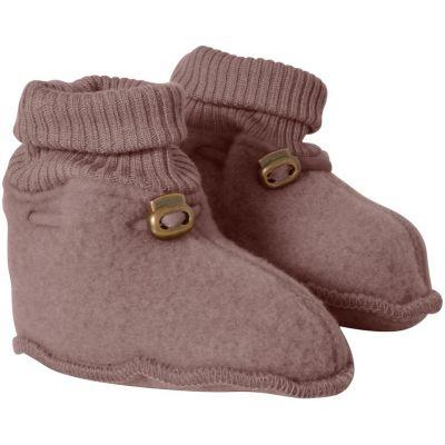 Mikk-Line Wool Footies Burlwood