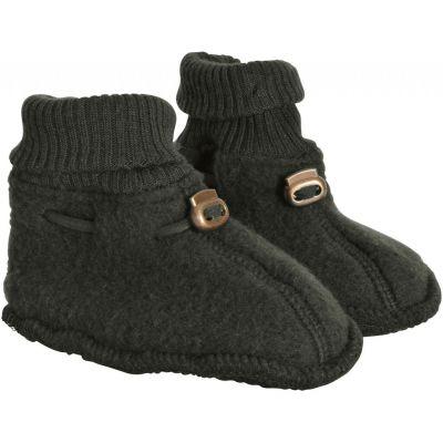 Mikk-Line Wool Footies Tarmac