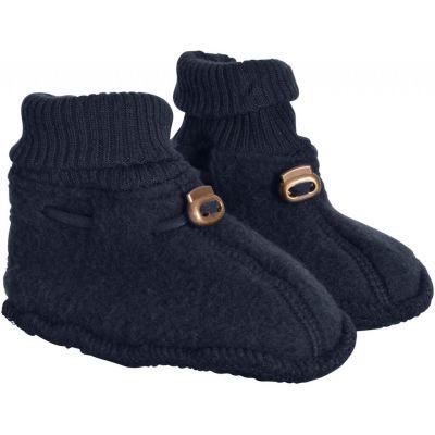 Mikk-Line Wool Footies Blue Nights