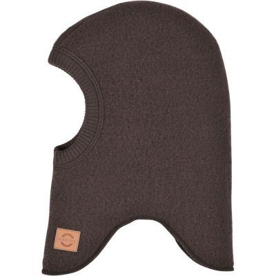Mikk-Line Uld Elefanthue Chocolate Brown