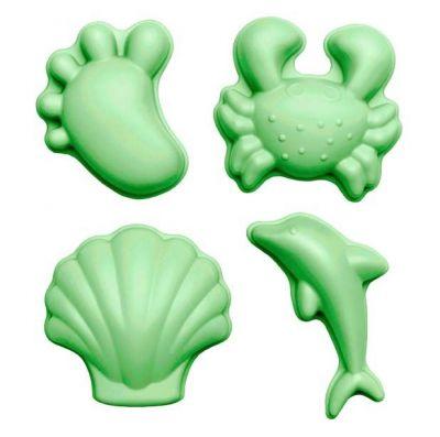 Scrunch Moulds Pastel Green
