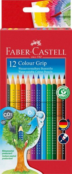 Faber Castell Color Grip 12 Stk Assorteret