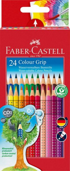 Faber Castell Color Grip 24 Stk Assorteret
