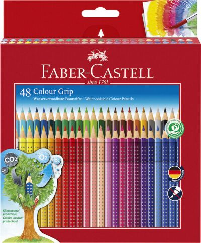 Faber Castell Color Grip 48 Stk Assorteret