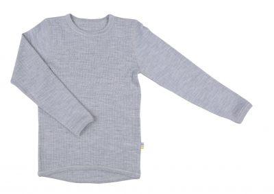 JOHA Shirt LS Basic Lt Grey Melange