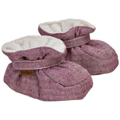 Enfant Baby Slippers Ruby/Wine