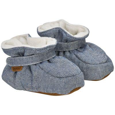 Enfant Baby Slippers Navy