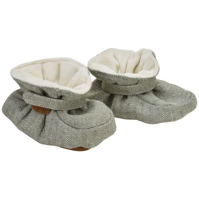 Enfant Baby Slippers Olive Thyme