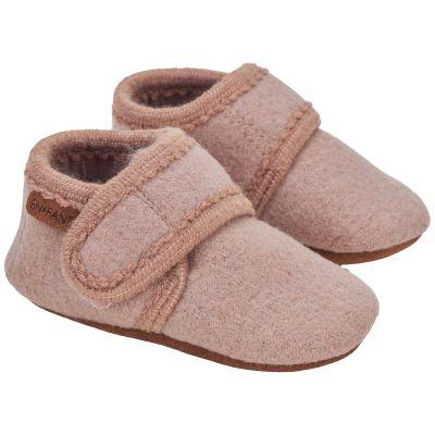 Enfant Baby Wool Slippers Bark