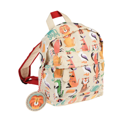 RL Mini Backpack Colorful creatures