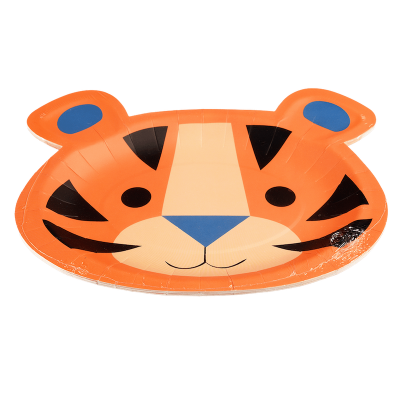 RL Paper Plates Ziggy the tiger