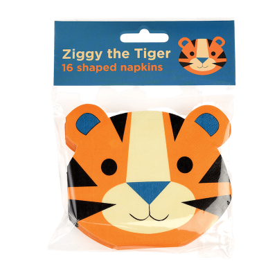 RL Napkins (Pack of 16) Ziggy the tiger