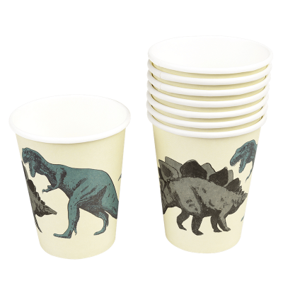 RL Paper Cups Prehistoric land