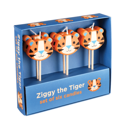 RL Party Candles Ziggy the tiger