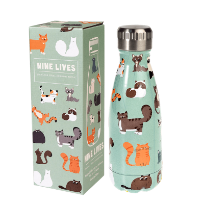 RL Stainless Steel Bottle 260 ml Nine Lives