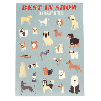 RL Temporary Tattoos Best in Show