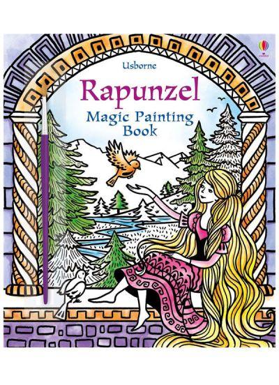 Usborne-Magic Painting Book Rapunzel