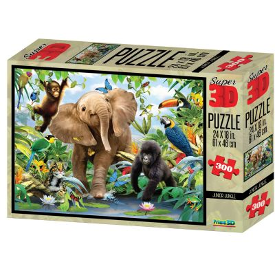 Magni 3D Puslespil Jungle 300 Brk