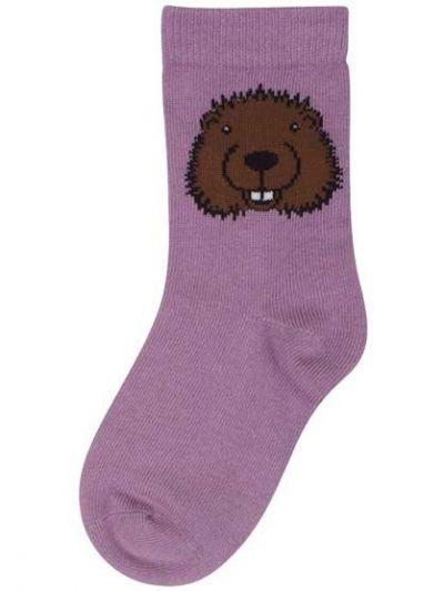 Galop socks Grey Pink BEAVER