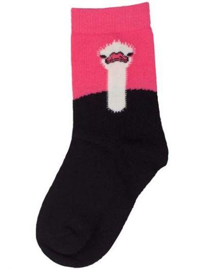 Galop socks Candy Pink/Black STRUDS