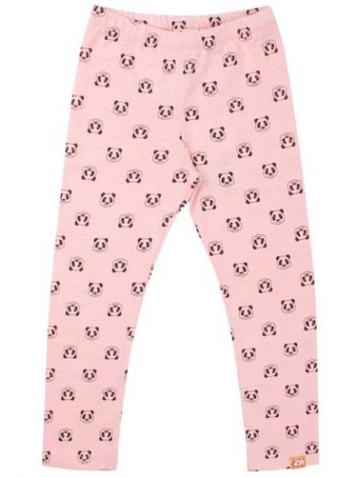 Cheetah Leggings Delicate Peach AOP PANDA