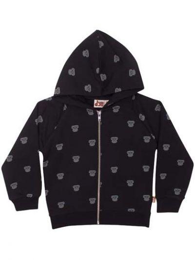Panda Zip-Up Black AOP GORILLA