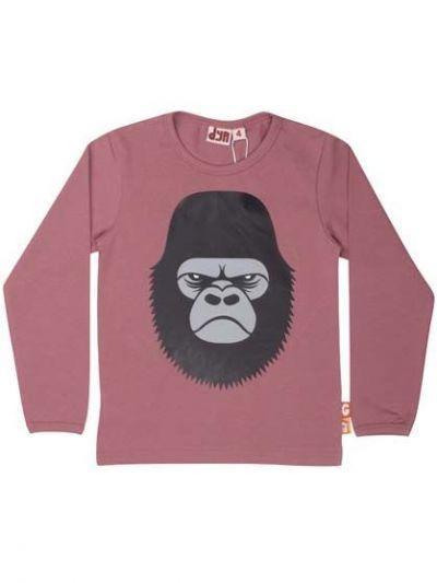 Roar T Grey Pink GORILLA