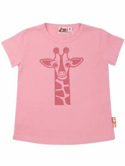 Wildlife T Oh Dear Pink GIRAF