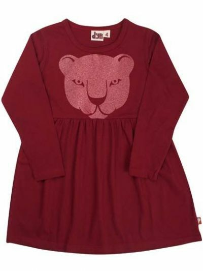 Gooseling Dress Deep Red PANTHER