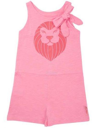 Croco Suit Snap Pink LOEVE
