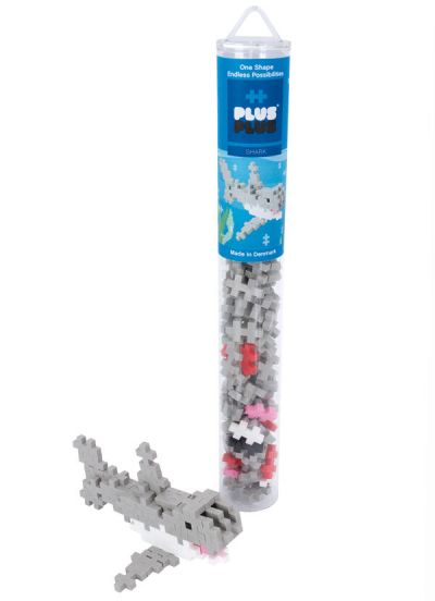 Plus Plus Tube 100 PCS Shark