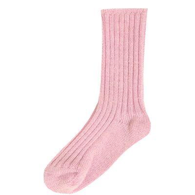 JOHA Wool Socks Rosa