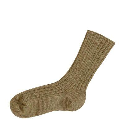 JOHA Wool Socks Sand Melange