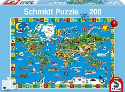Schmidt Puzzle 200 Brk Your amazing world