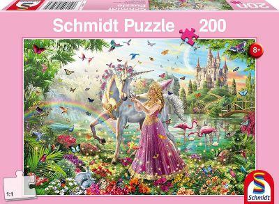 Schmidt Puzzle 200 Brk Fairy in magic forest