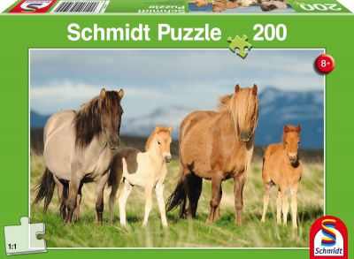 Schmidt Puzzle 200 Brk Hest