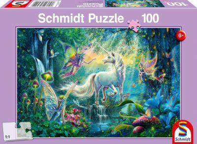 Schmidt Puzzle 100 Brk Fabelwesen