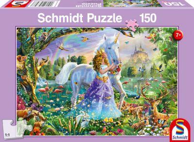 Schmidt Puzzle 150 Brk Prinsesse