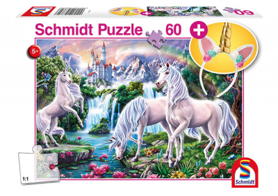 Schmidt Puzzle 60 Brk Magnificent Unicorns