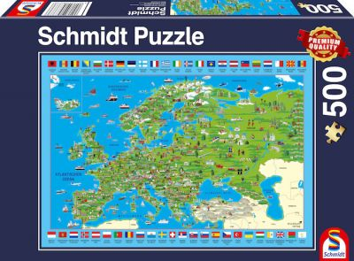 Schmidt Puzzle 500 Brk Europa