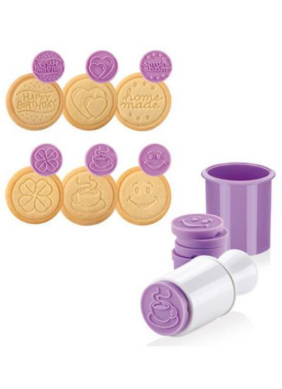 Tescoma Cookie Stamp 6 PCS Party Patterns