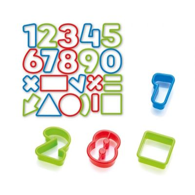 Tescoma Cookie Cutters 21 PCS Numbers