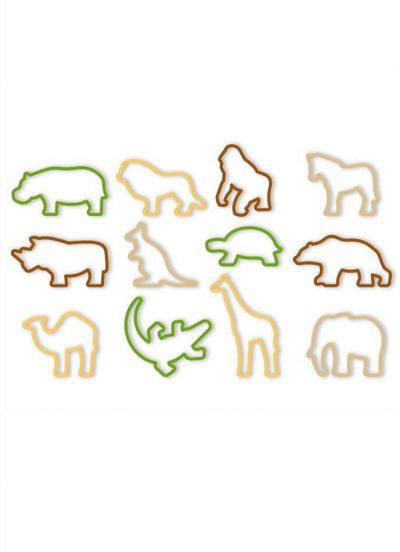 Tescoma Cookie Cutter 12 PCS Zoo