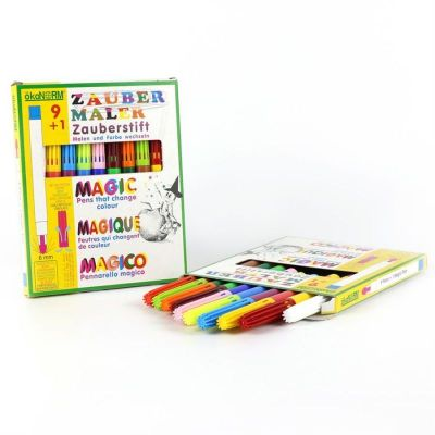 Oekonorm Magic Markers 9 Colors + 1Color Changing Marker