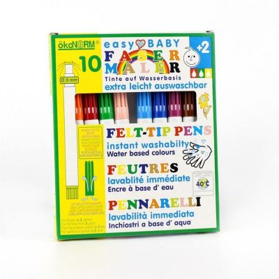 Oekonorm Felt-Tip Pen 10 Color Set