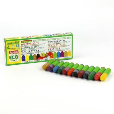 Oekonorm Mini Wax Crayons 12 Colors Gnome