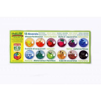 Oekonorm Watercolor Paintbox 12-Colors Set
