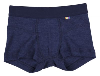 JOHA Boxer Shorts Wool/Silk Navy