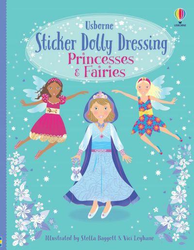 Usborne-First Sticker Book Princesses